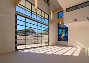 Presbyterian Church Interior Stainglass