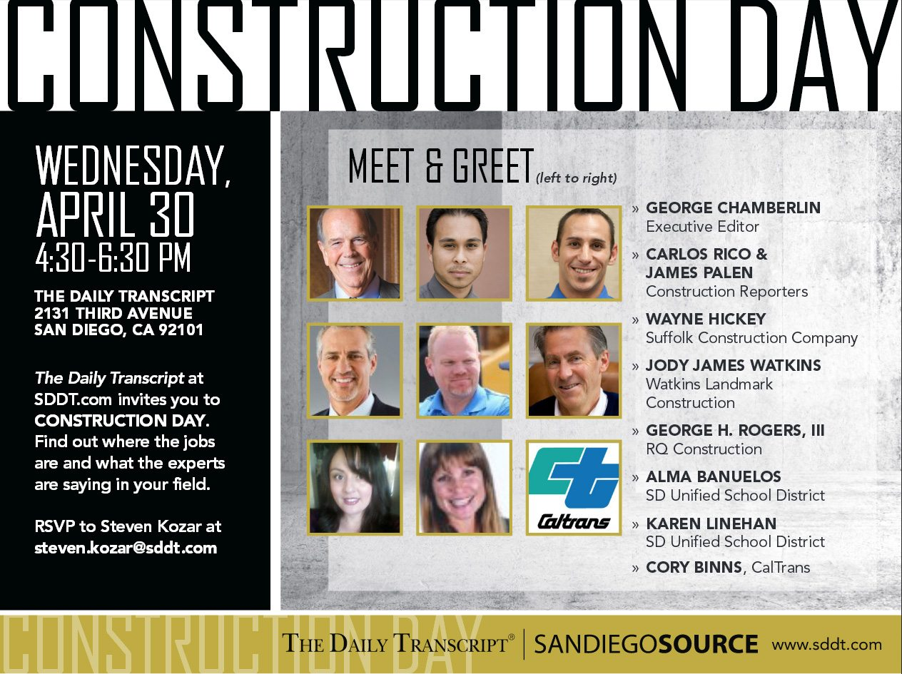 Construction Day Flyer