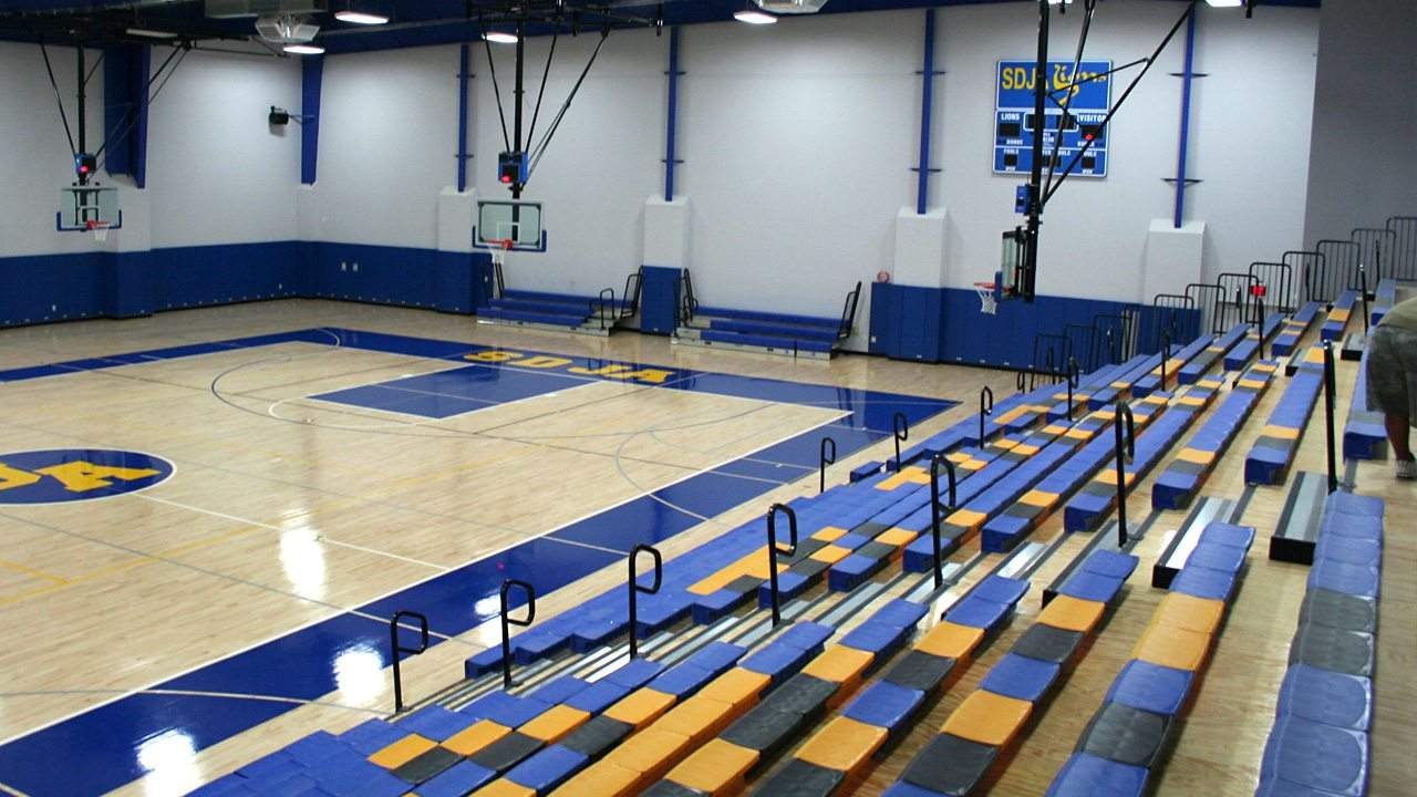 SAN DIEGO JEWISH ACADEMY GYMNASIUM AND TENNIS COURTS