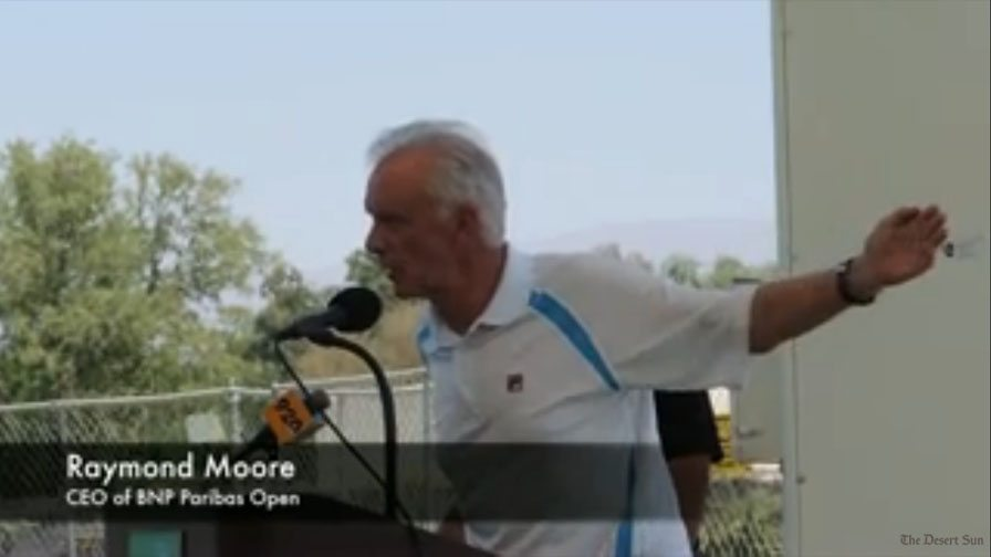Raymond Moore Of Indian Wells Tennis Gardens
