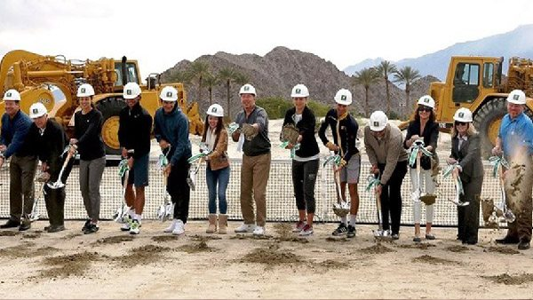 indian wells ground breaking ceremony