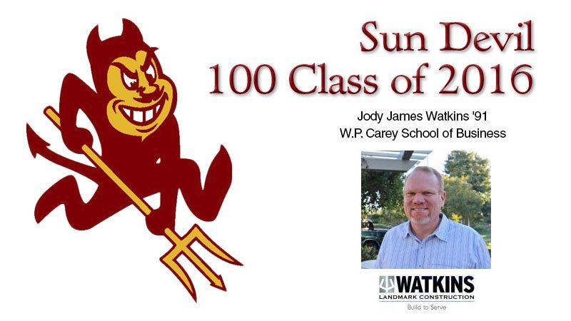 Sun Devil 100 Class of 2016