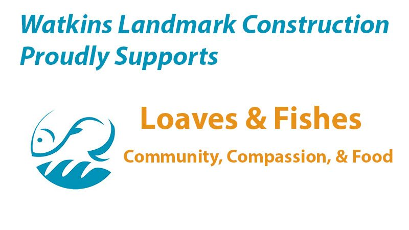 Watkins Landmark Supports Loaves & Fishes