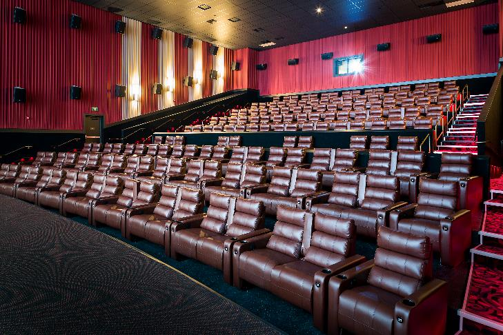 Cinemark Theater Interior