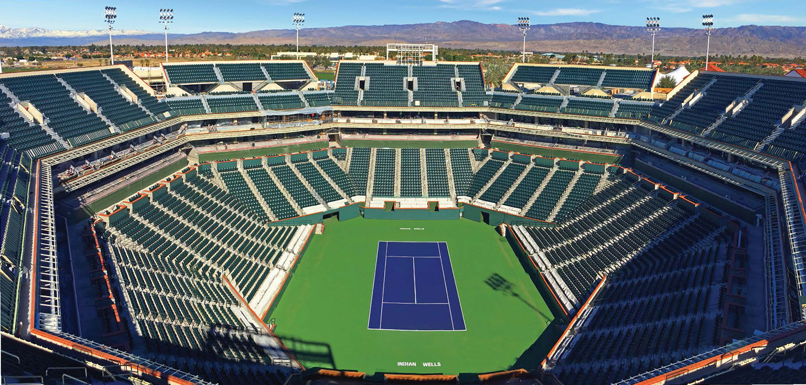 indian wells tennis garden stadium 1 renovation - Indian Wells Tennis Garden