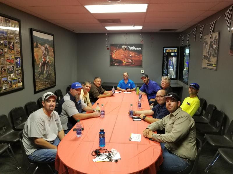 Pole Position Superintendent Meeting