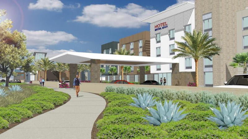 Hampton Inn Imperial Beach Artist Rendering
