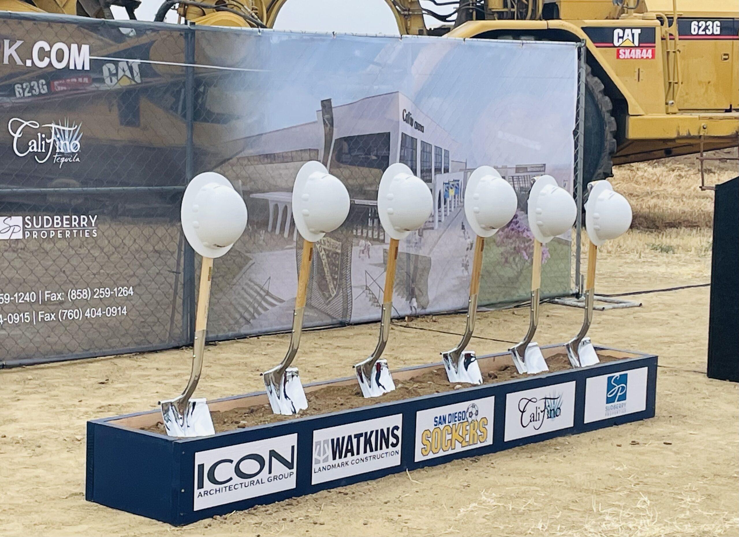 Oceansides New Arena Breaks Ground