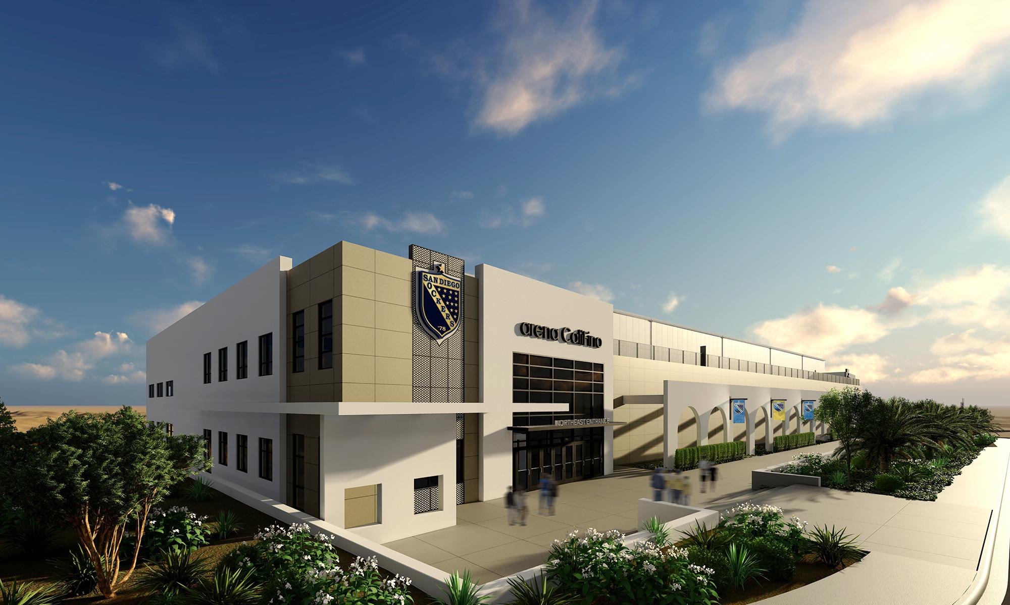 New $40 Million Arena Breaks Ground